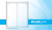 2400 Series Flexible PVC Swing Doors